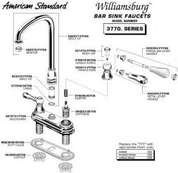 Kitchen Sink Drain Parts Diagram Plumbingwarehouse American Standard Bathroom Faucet Parts For Model 3770