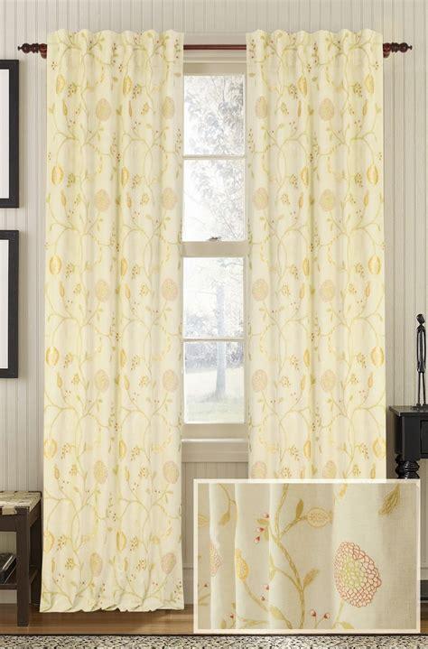 cotton drapery panels muriel kay chantilly linen cotton drapery panel