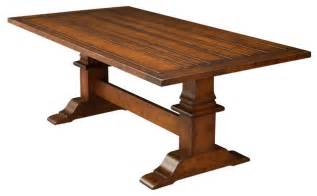 Traditional Kitchen Tables Trestle Tables Traditional Dining Tables Detroit By Dreamhomes