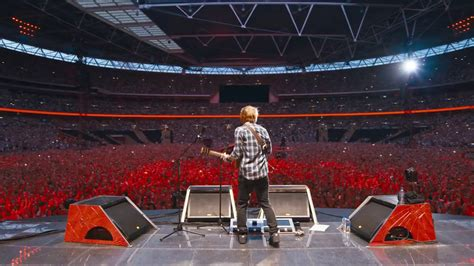 ed sheeran jumpers for goalposts ed sheeran jumpers for goalposts live from wembley