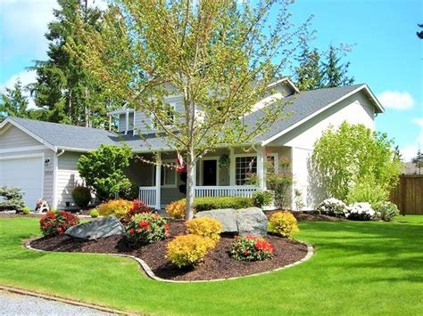 Front Yard Garden Decoration by Front Yard Decoration Ideas For Greenery 1001