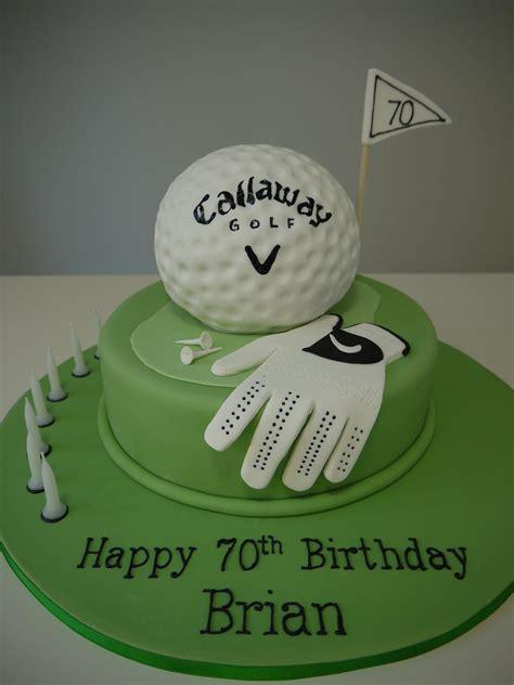 funny happy birthday golf golf cakes adult birthdays themed change to titleist