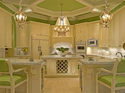 green and cream kitchen colorful kitchens kitchen ideas design with cabinets