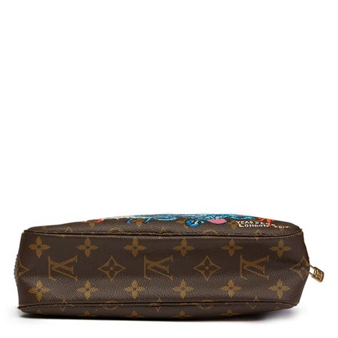 Louis Vuitton Vomit Really Expensive Vomit by Louis Vuitton Toiletry Pouch 1988 Hb1301 Second