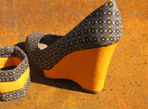 Handmade Shoes Cape Town - fabric shoes langa
