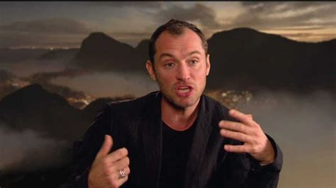 "Jude Law's Official ""Rise of the Guardians"" Interview ... Jude Law Rise Of The Guardians"