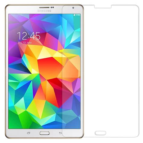 Tempered Glass Samsung Tab S samsung galaxy tab s 8 4 tempered glass screen protector