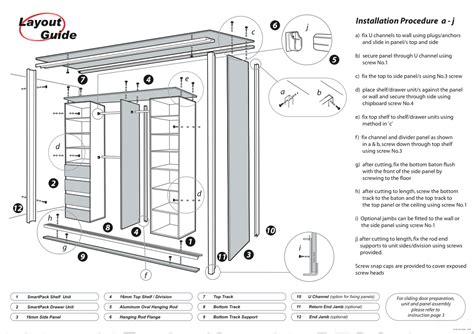 Bunnings Kitchen Planner how to build fitted wardrobes estate buildings
