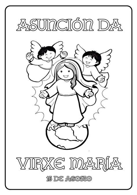 Ficha e Lectio - Asunción da Virxe María