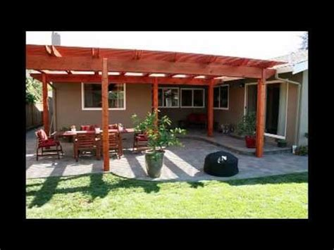 building a back yard patio with pergola youtube