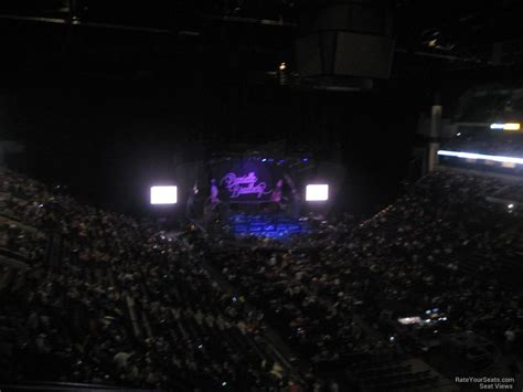 bridgestone arena section 221 concert seating