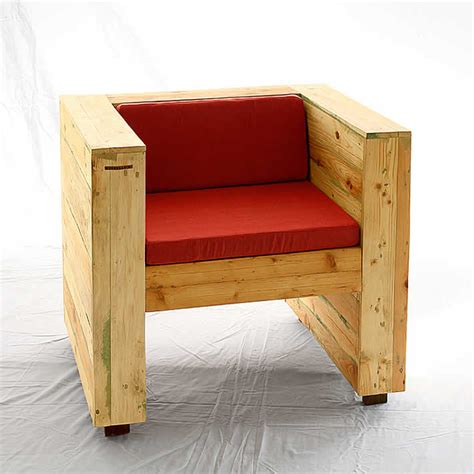 pallet armchair pallet wood armchair collection by redolab pallet wood