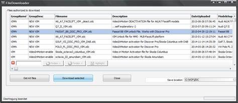 Pro Vim stemei de fahrzeugcodierungen codierungsservice
