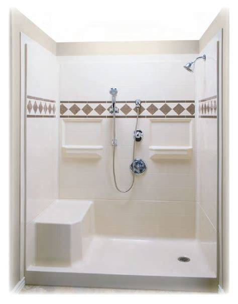 Shower Stalls With Seat by Shower Stalls With Seats Built In 60 X 32 Remodeler