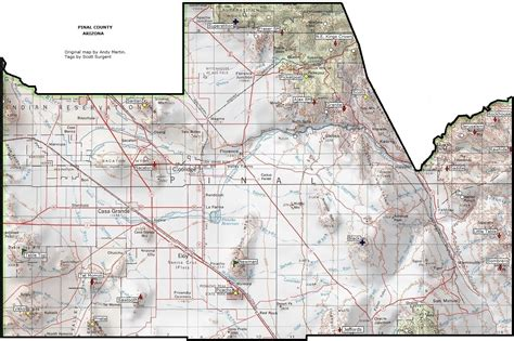 Pinal County Zip Code Map Pictures To Pin On Pinterest