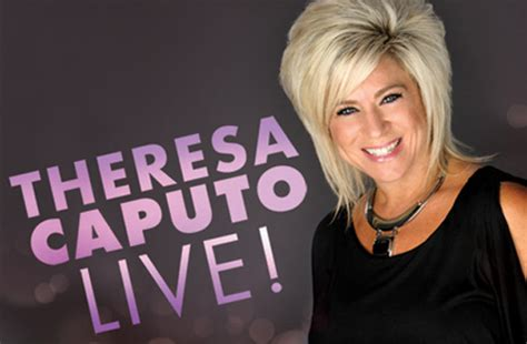 theresa caputo past lives theresa caputo bellco theatre denver co tickets