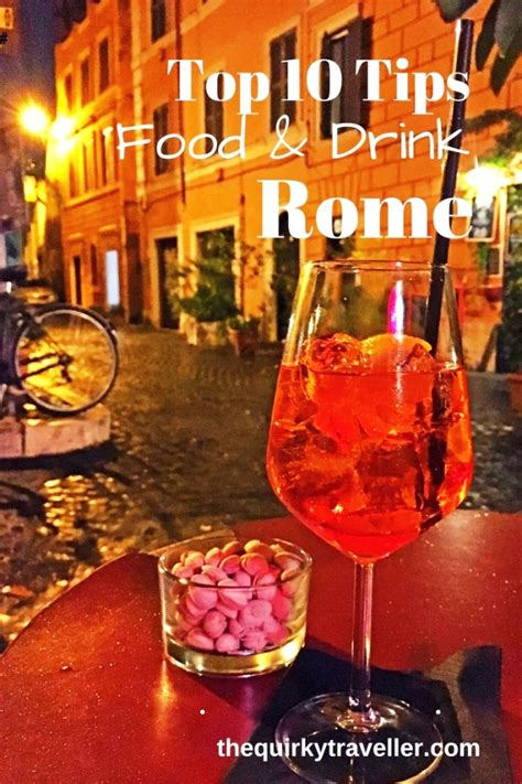 best food in rome italy top 10 tips for food and drink in rome the