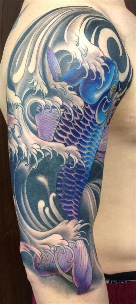 japanese water dragon tattoo designs 25 best ideas about koi sleeve on koi