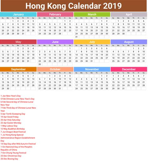 printable calendar hong kong holidays printable calendar hong kong holidays annual hong kong