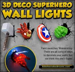 Superhero Wall Decals For Kids Rooms by Decorating Theme Bedrooms Maries Manor Superheroes