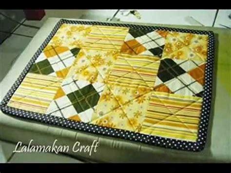 tutorial quilting sederhana part 2 3 menjahit alas sofa quilting dari kain perca