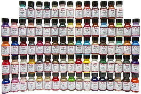 angelus paint near me 100 angelus color charts angelus glitterlites paint