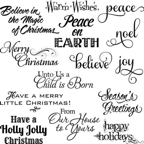 printable christmas card sentiments 82 best xmas sentiments and fonts images on pinterest