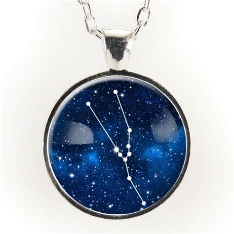 taurus constellation necklace astrology zodiac pendant