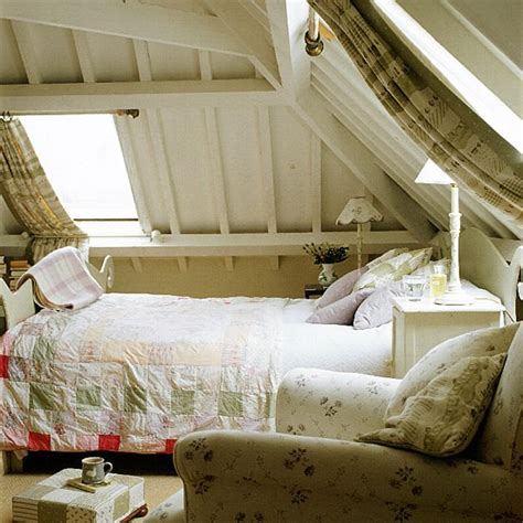 bedroom design eaves bedroom with painted eaves plaid curtains and patchwork