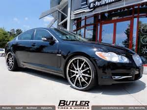 Jaguar Niche Jaguar Xf With 22in Niche Spa Wheels Exclusively From