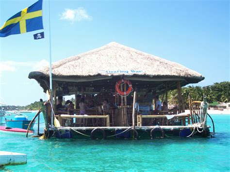 Floating Bar The Floating Bar In Cebu Restaurant In Cebu Philippines