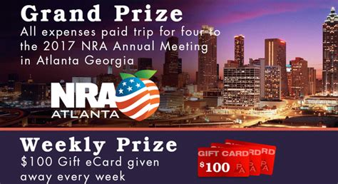 Nra Sweepstakes 2017 - nra blog win a trip to the 2017 nra annual meeting