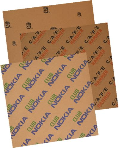 Printing On Craft Paper - custom printed coated kraft paper gator paper