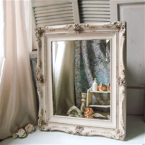 shabby chic bathroom mirrors best ornate shabby chic white mirror products on wanelo