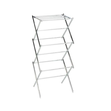 Home Power Drying Rack by Honey Can Do Chrome Expandable Drying Rack 03053 The