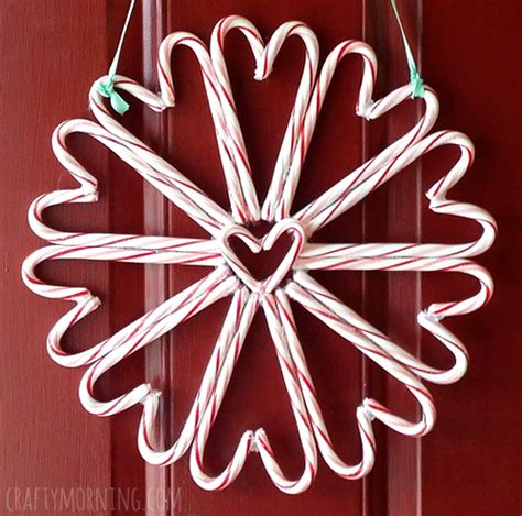 craft ideas with canes wreath craft for crafty morning