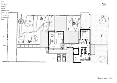 hotel floor plan design design floor modern hotel first plan architecture house