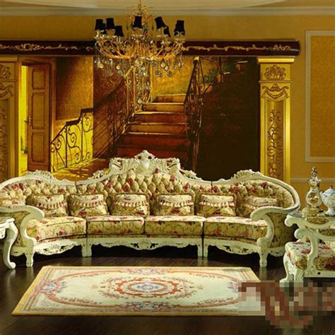 Luxury Living Room Furniture Sets by Palace Luxury Furniture European Classical Solid Wood Sofa