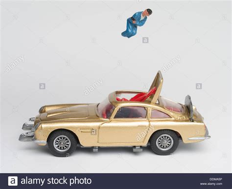 aston martin ejector seat corgi toys 261 die cast model of bond s aston