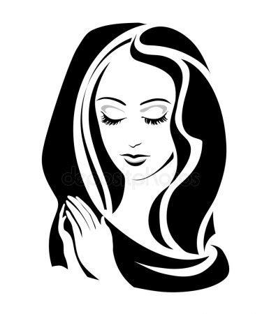 clipart vettoriali vettoriali stock madonna illustrazioni madonna royalty
