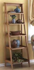 Double Sided Bookshelf 31 Md 00510 Ladder Shelves Woodworking Plan