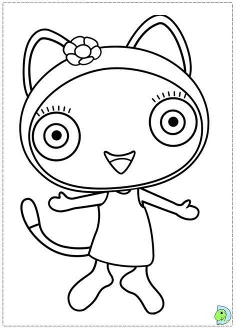 Free Cbeebies Charators Coloring Pages Cbeebies Colouring Pages To Print