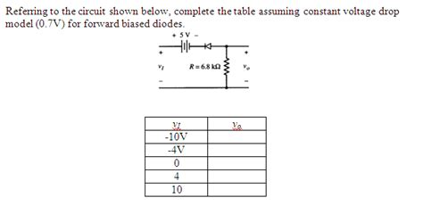 diode voltage drop chart diode voltage drop table 28 images rf probe 274a data