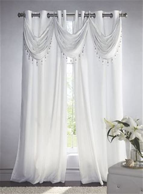 Glitter Window Curtains Thermal Glitter Window Treatments From Seventh Avenue Dw733632