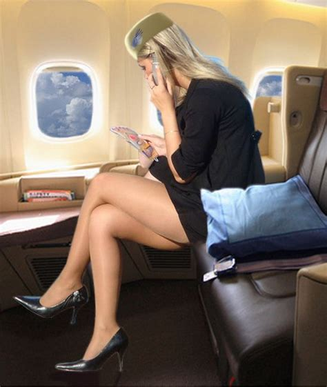 sexy flight attendants threads stewardess air pinterest sexy sexy stockings and