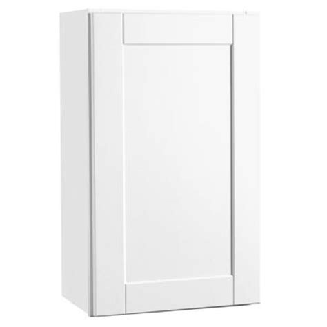 hton bay shaker cabinets create customize your kitchen cabinets shaker wall cabinets in white the home depot