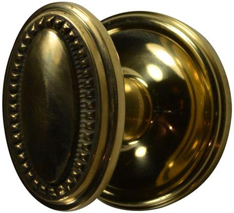 Door Knob And Plate Set by Solid Brass Beaded Oval Door Knob Set Plate