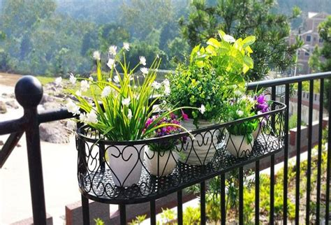 Hanging Planters For Balcony by 25 Space Saving Ideas Creating Beautiful Balcony Designs