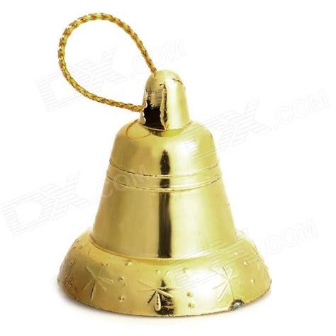 christmas tree decorative bells golden 18 pcs free