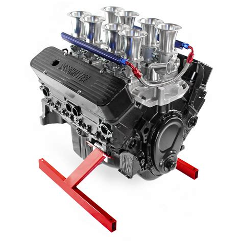 gm chevy sbc 350 individual throttle stack efi crate